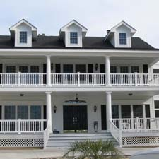 back porch architectural columns
