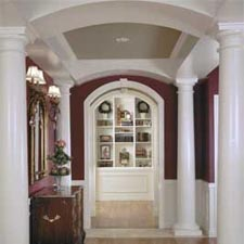 round interior decorative  columns